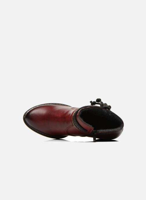 Boots en enkellaarsjes Rieker Alice 55298 Bordeaux links