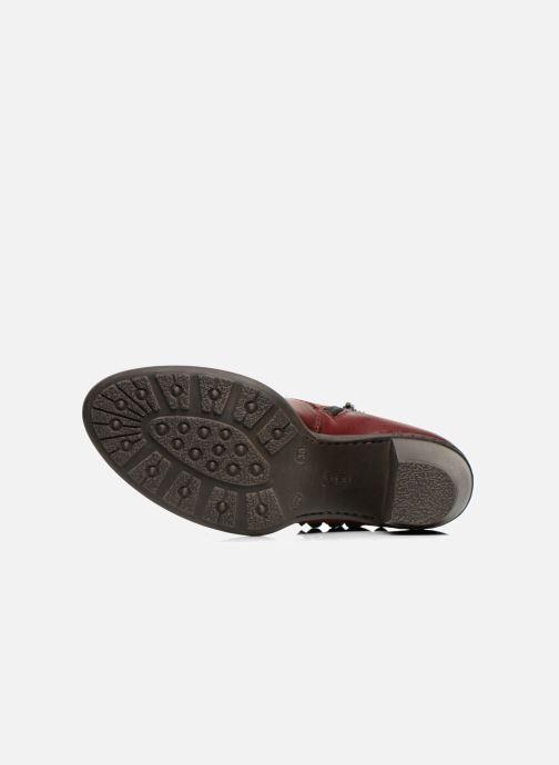 Bottines et boots Rieker Alice 55298 Bordeaux vue haut