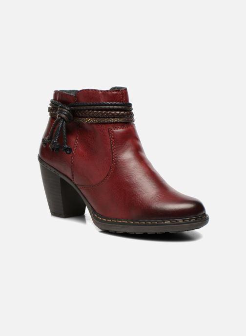Bottines et boots Rieker Alice 55298 Bordeaux vue détail/paire