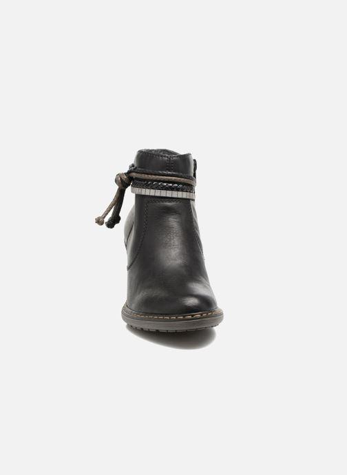 Boots en enkellaarsjes Rieker Alice 55298 Zwart model