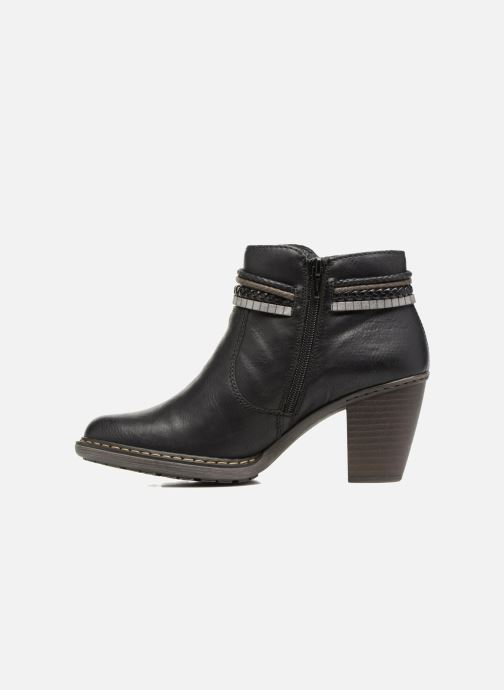 Ankle boots Rieker Alice 55298 Black front view