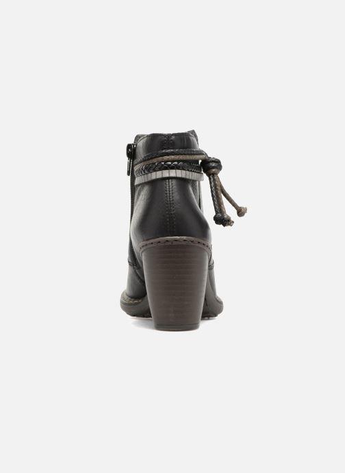 Bottines et boots Rieker Alice 55298 Noir vue droite