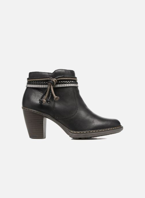 Ankle boots Rieker Alice 55298 Black back view