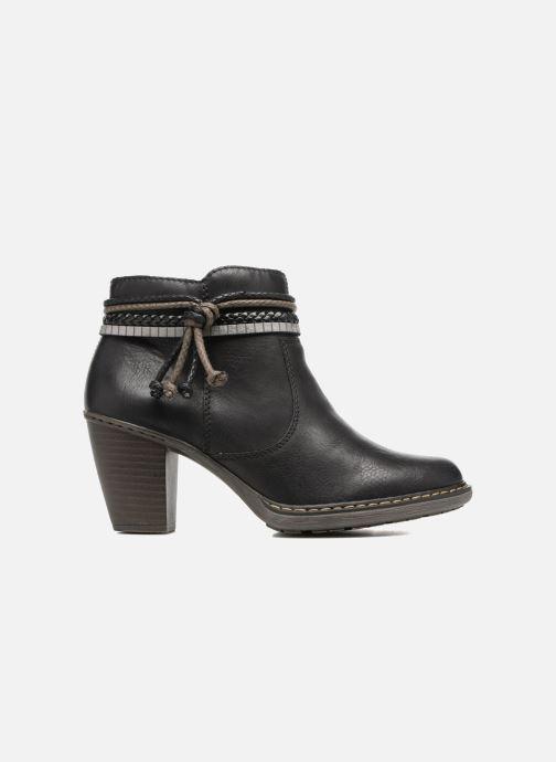 Boots en enkellaarsjes Rieker Alice 55298 Zwart achterkant