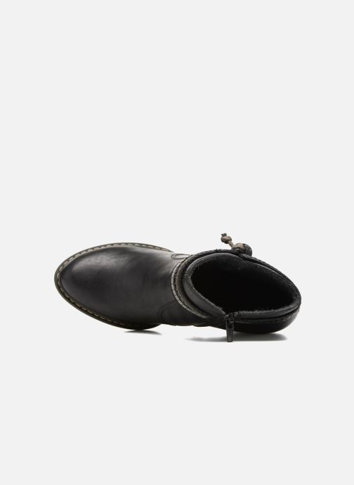 Ankle boots Rieker Alice 55298 Black view from the left