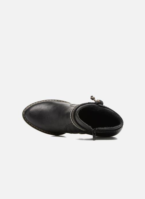 Boots en enkellaarsjes Rieker Alice 55298 Zwart links