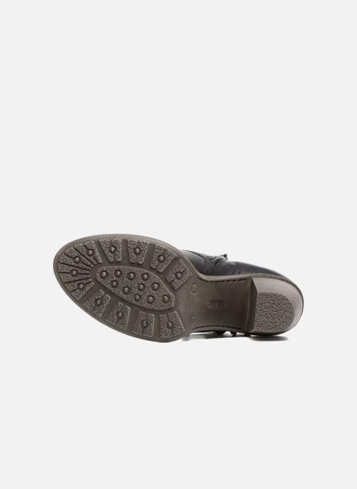 Bottines et boots Rieker Alice 55298 Noir vue haut