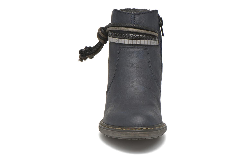 Bottines et boots Rieker Alice 55298 Bleu vue portées chaussures