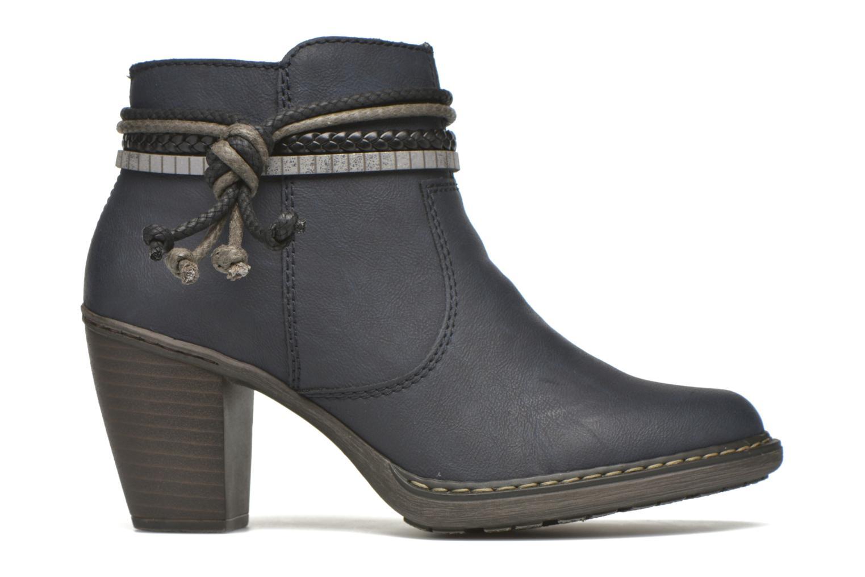 Bottines et boots Rieker Alice 55298 Bleu vue derrière
