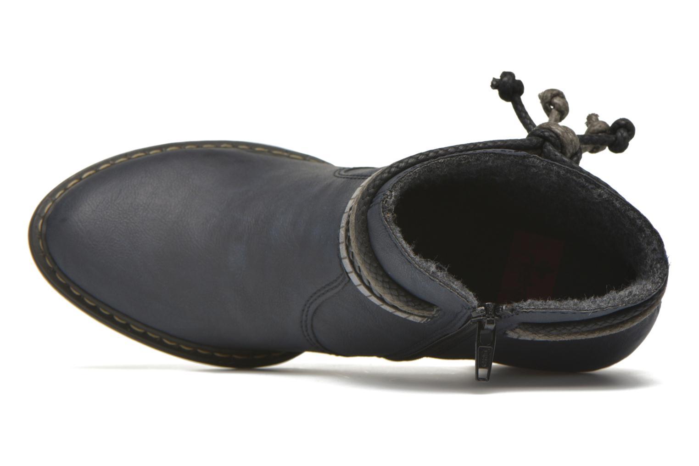 Bottines et boots Rieker Alice 55298 Bleu vue gauche