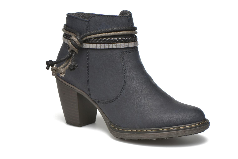 Bottines et boots Rieker Alice 55298 Bleu vue détail/paire