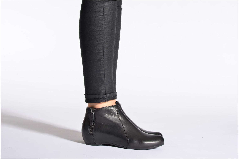 Bottines et boots Unisa Astor Noir vue bas / vue portée sac