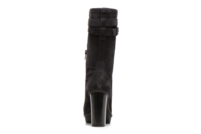 Bottines et boots Unisa Talia2 Noir vue droite