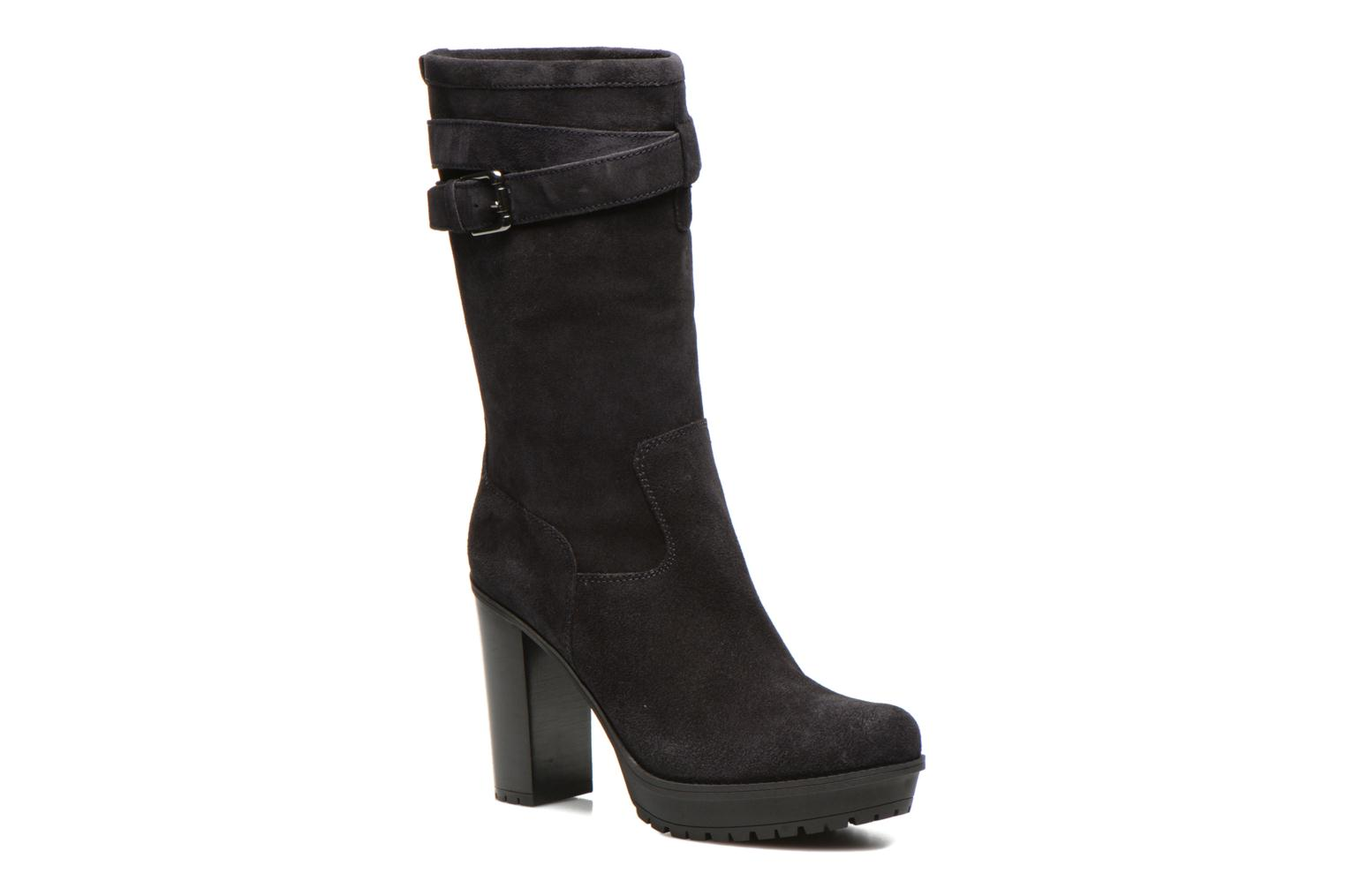 Ankle boots Unisa Talia2 Black detailed view/ Pair view