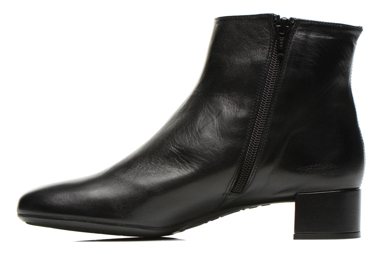 Bottines et boots Unisa Cueva Noir vue face