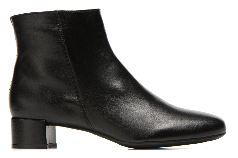 Bottines et boots Unisa Cueva Noir vue derrière