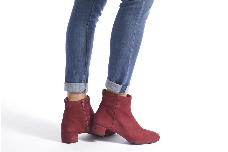 Bottines et boots Unisa Cueva Rouge vue bas / vue portée sac