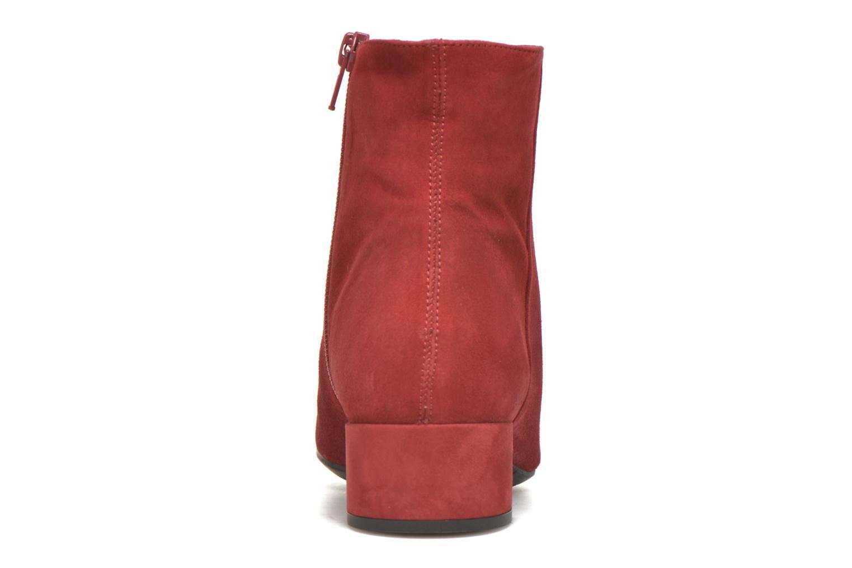 Bottines et boots Unisa Cueva Rouge vue droite