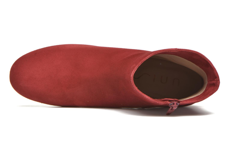 Bottines et boots Unisa Cueva Rouge vue gauche