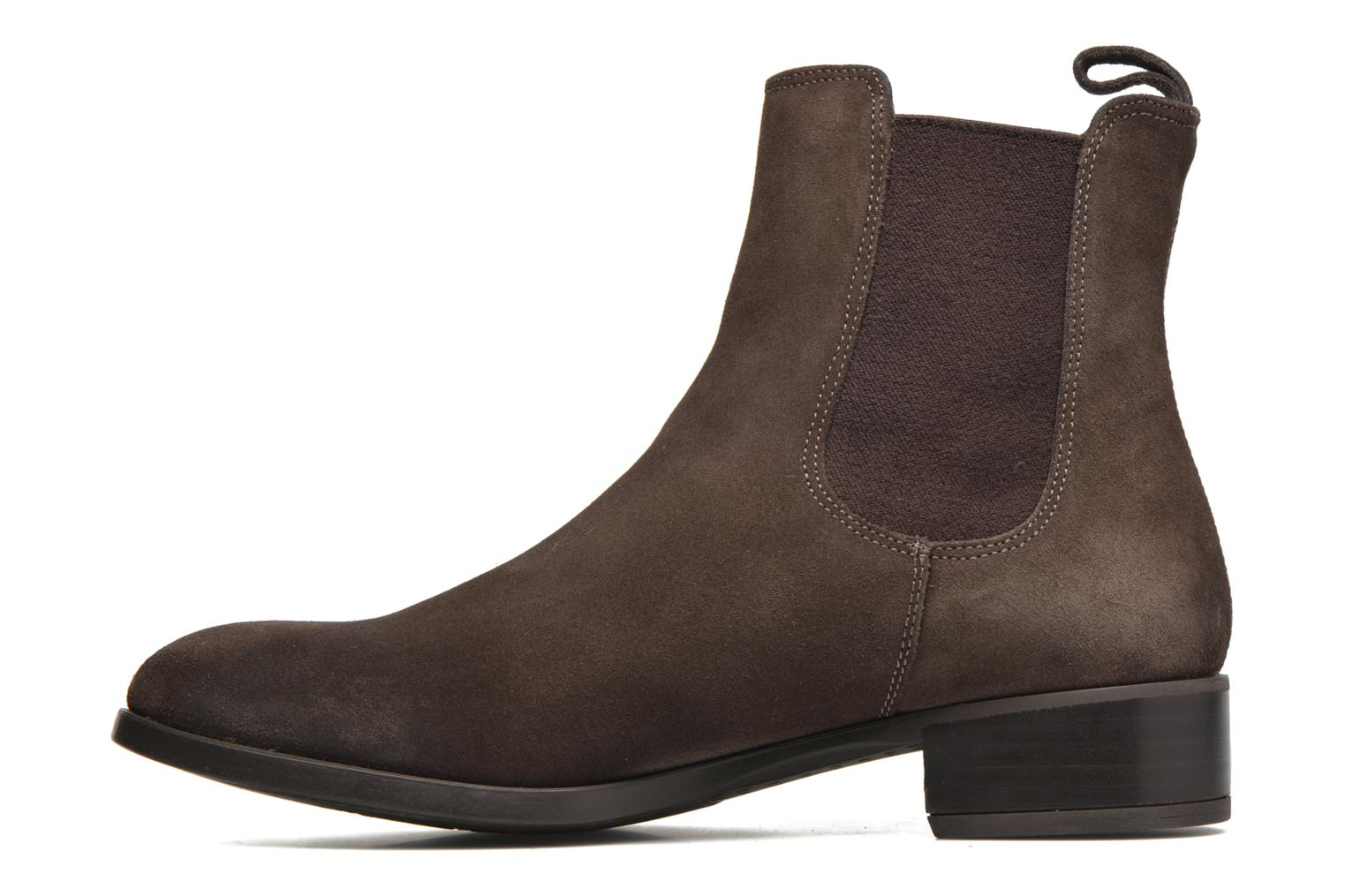 Bottines et boots Unisa Darwin Marron vue face