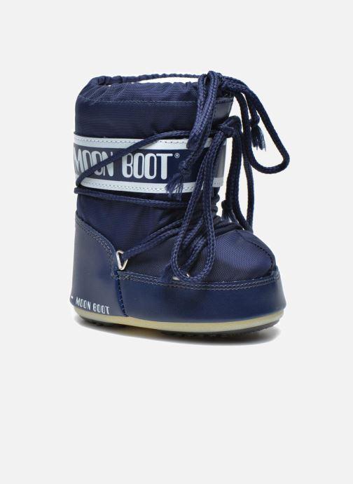 Bottes Moon Boot Moon Boot Mini Nylon Bleu vue détail/paire