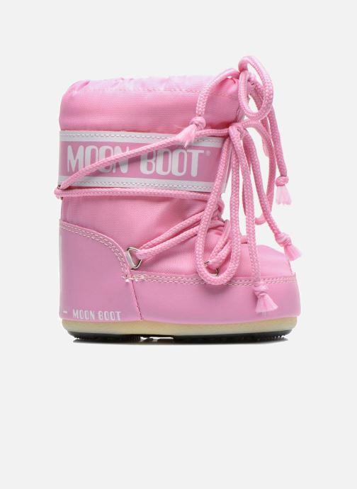 Stiefel Moon Boot Moon Boot Mini Nylon rosa ansicht von hinten