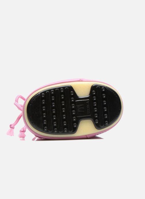 Stivali Moon Boot Moon Boot Mini Nylon Rosa immagine dall'alto