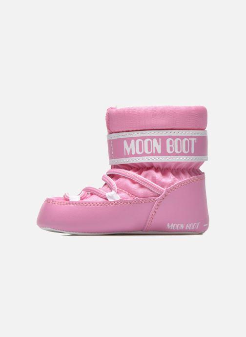 Botas Moon Boot Moon Boot Crib Rosa vista de frente