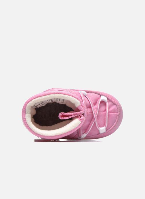 Stiefel Moon Boot Moon Boot Crib rosa ansicht von links