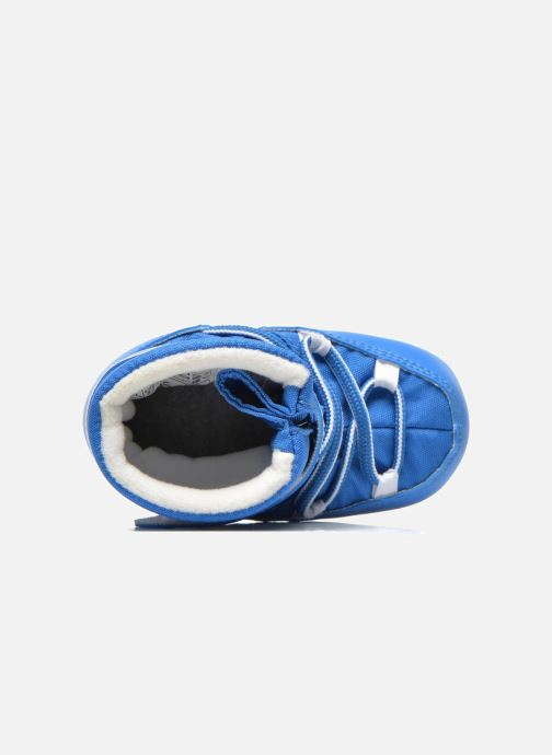 Botas Moon Boot Moon Boot Crib Azul vista lateral izquierda