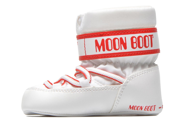 Bottes Moon Boot Moon Boot Crib Blanc vue face
