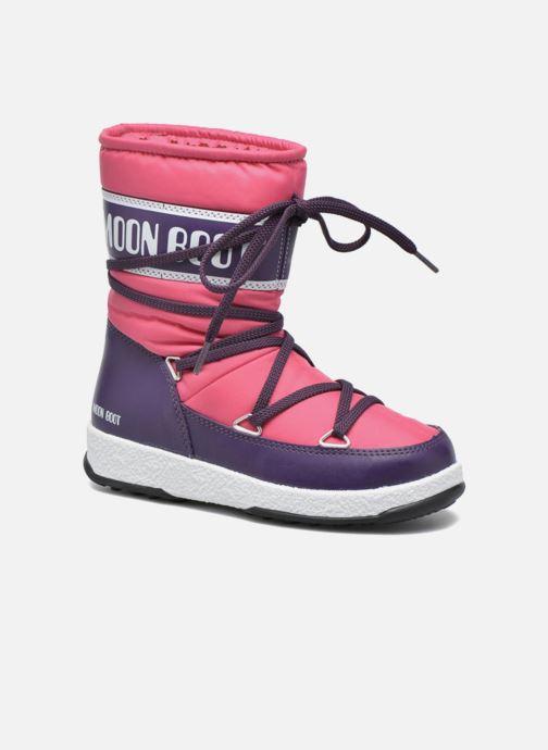 Stiefel Moon Boot Moon Boot Sport Jr rosa detaillierte ansicht/modell
