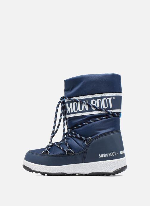 Stiefel Moon Boot Moon Boot Sport Jr blau ansicht von vorne