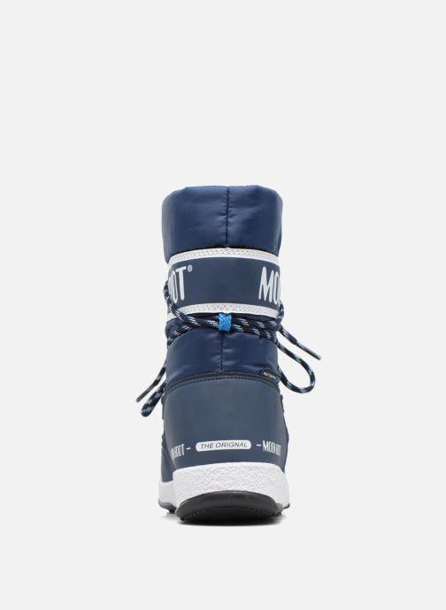 Bottes Moon Boot Moon Boot Sport Jr Bleu vue droite
