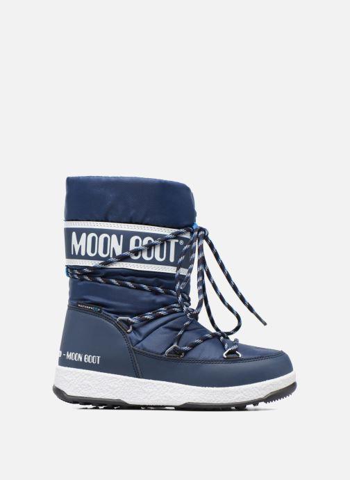 Stiefel Moon Boot Moon Boot Sport Jr blau ansicht von hinten