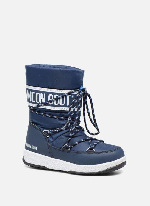 Bottes Moon Boot Moon Boot Sport Jr Bleu vue détail/paire