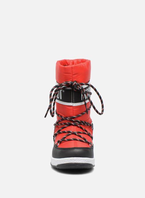 Bottes Moon Boot Moon Boot Sport Jr Rouge vue portées chaussures