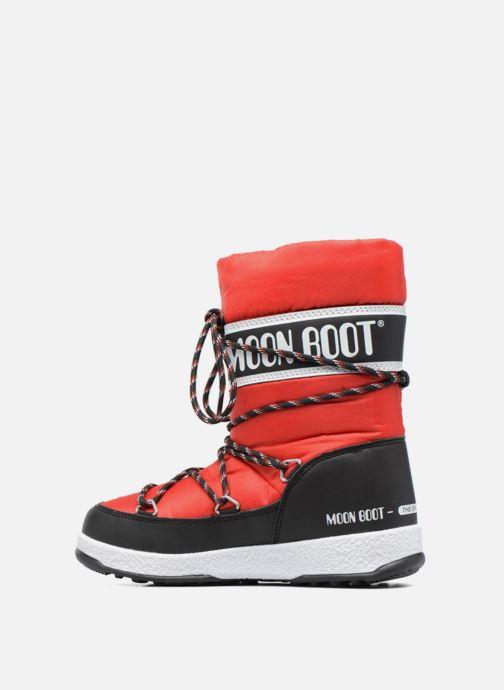 Stiefel Moon Boot Moon Boot Sport Jr rot ansicht von vorne