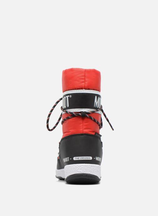Bottes Moon Boot Moon Boot Sport Jr Rouge vue droite