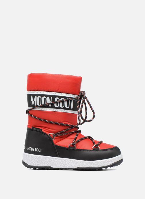 Bottes Moon Boot Moon Boot Sport Jr Rouge vue derrière