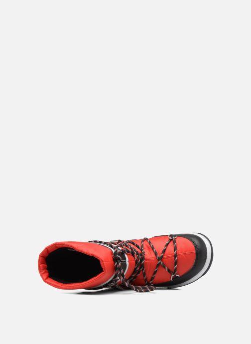 Stiefel Moon Boot Moon Boot Sport Jr rot ansicht von links