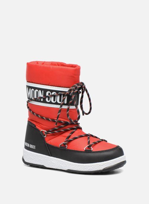 Bottes Moon Boot Moon Boot Sport Jr Rouge vue détail/paire