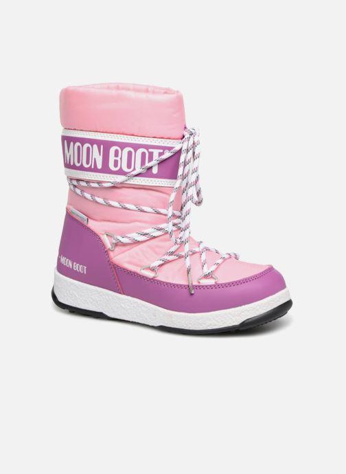 Bottes Moon Boot Moon Boot Sport Jr Rose vue détail/paire