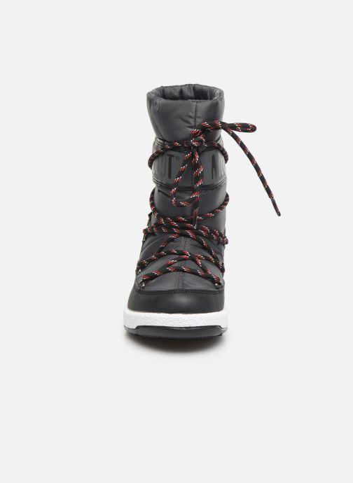 Bottes Moon Boot Moon Boot Sport Jr Noir vue portées chaussures