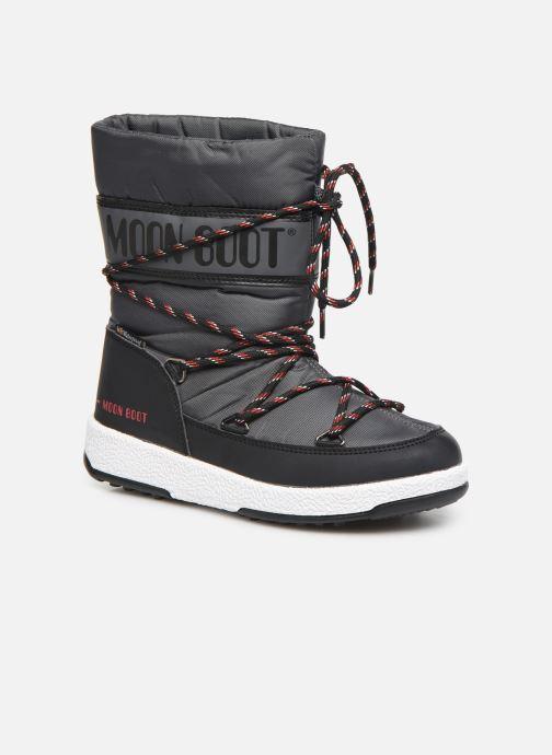 Støvler & gummistøvler Moon Boot Moon Boot Sport Jr Sort detaljeret billede af skoene