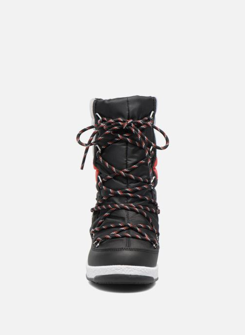 Bottes Moon Boot Moon Boot Quilted Jr Wp Noir vue portées chaussures