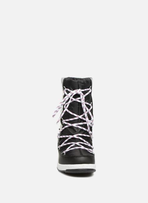 Stivali Moon Boot Moon Boot Quilted Jr Wp Nero modello indossato