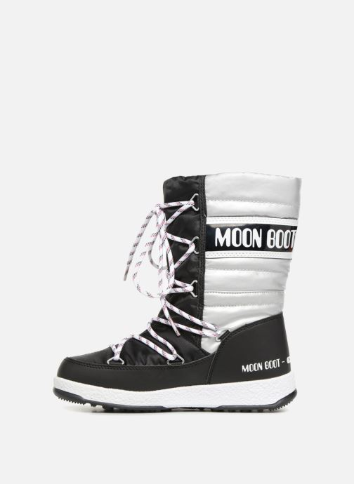 Stivali Moon Boot Moon Boot Quilted Jr Wp Nero immagine frontale
