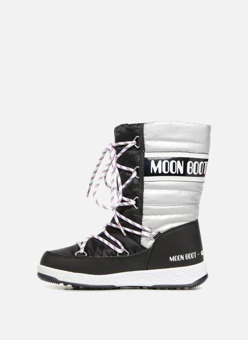 Stiefel Moon Boot Moon Boot Quilted Jr Wp schwarz ansicht von vorne