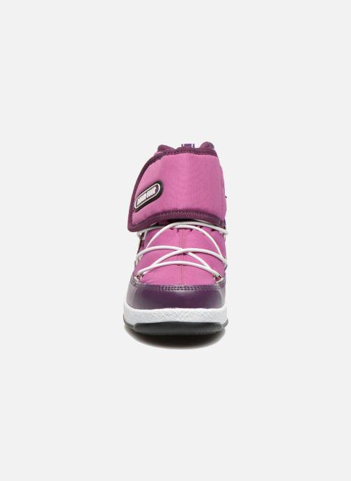 Stiefeletten & Boots Moon Boot Moon Boot Jr Strap lila schuhe getragen